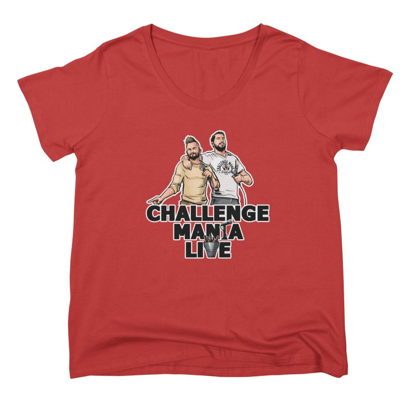 CM LIVE Women's Scoop Neck by Challenge Mania Shop