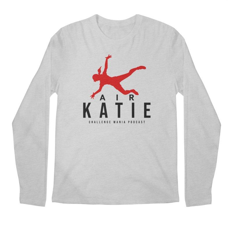 AIR KATIE Men's Longsleeve T-Shirt by Challenge Mania Shop