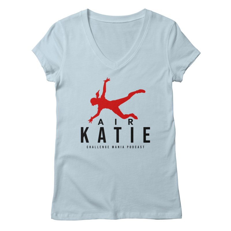 AIR KATIE Women's V-Neck by Challenge Mania Shop