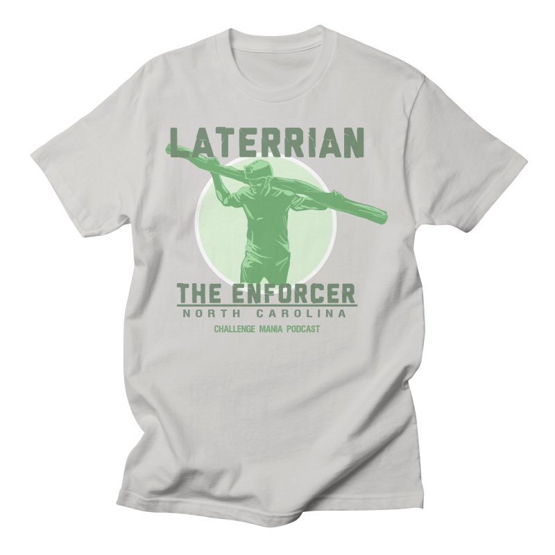 Laterrian: Enforcer Men's T-Shirt by Challenge Mania Shop