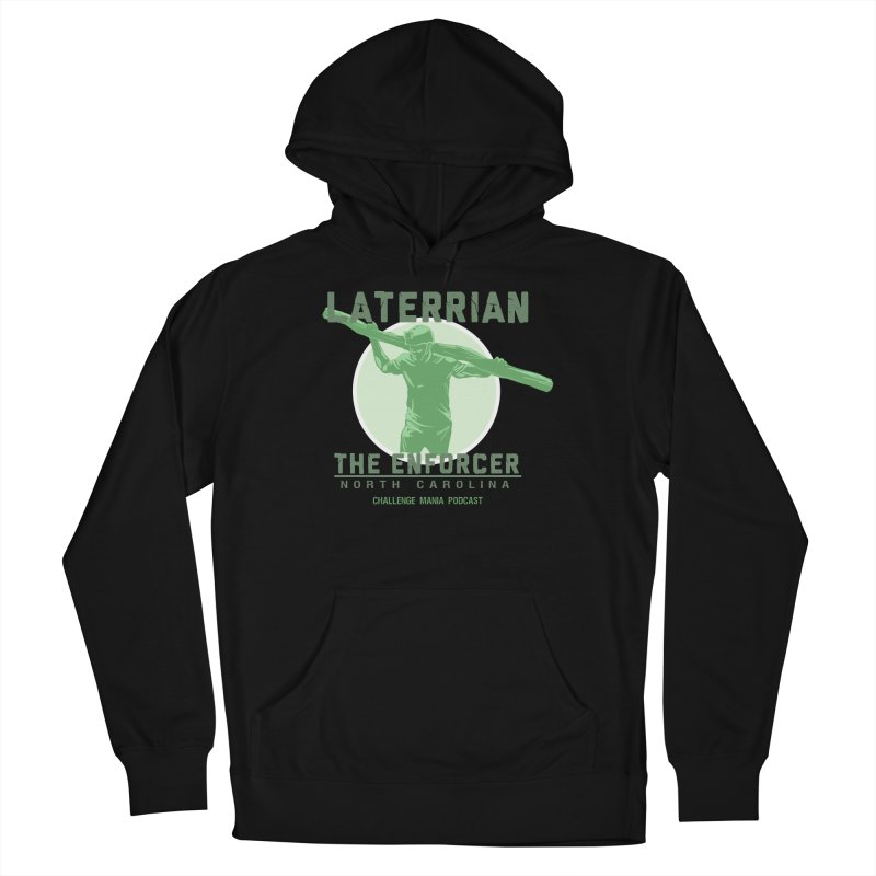 Laterrian: Enforcer Men's Pullover Hoody by Challenge Mania Shop