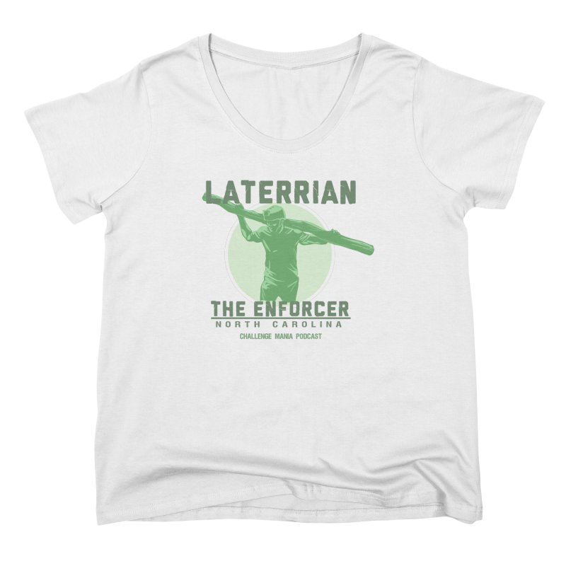 Laterrian: Enforcer Women's Scoop Neck by Challenge Mania Shop