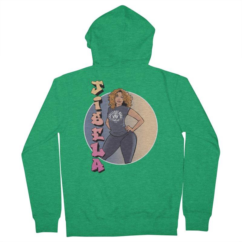 JISELA Men's Zip-Up Hoody by Challenge Mania Shop