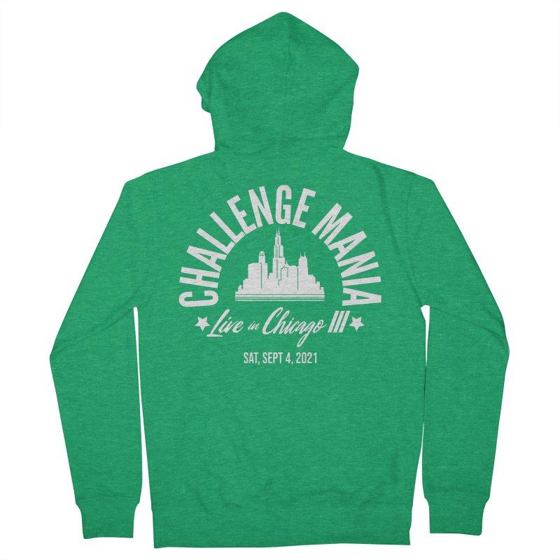 Chicago III Men's Zip-Up Hoody by Challenge Mania Shop