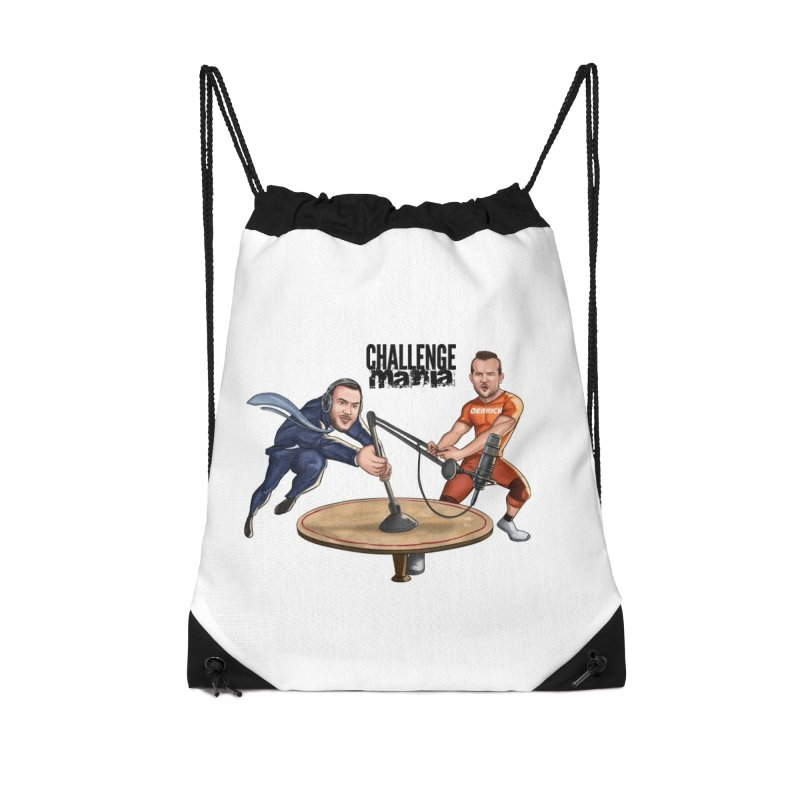 Cartoon Podcast Logo Accessories Bag by Challenge Mania Shop