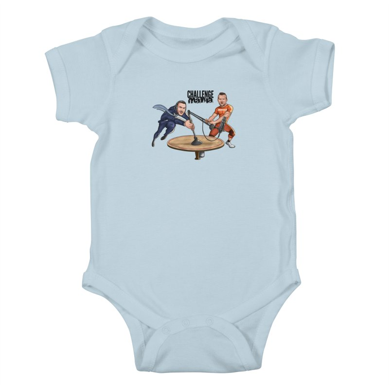Cartoon Podcast Logo Kids Baby Bodysuit by Challenge Mania Shop