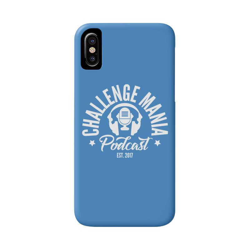 Classic Podcast Logo (White) Accessories Phone Case by Challenge Mania Shop