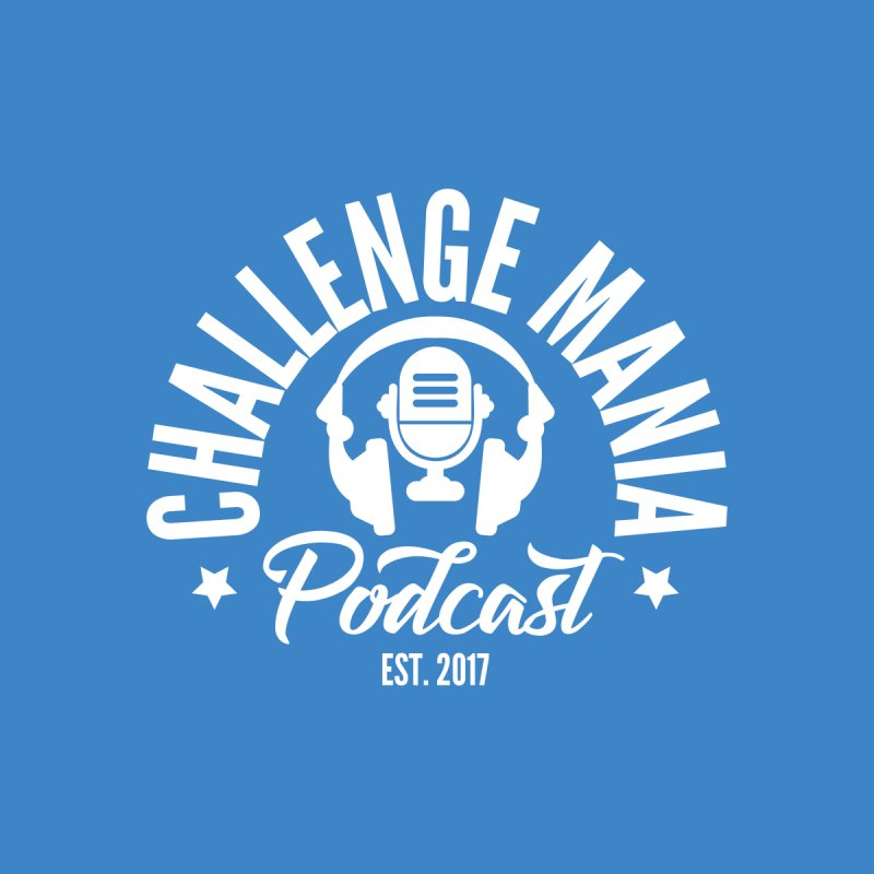 Classic Podcast Logo (White) None  by Challenge Mania Shop
