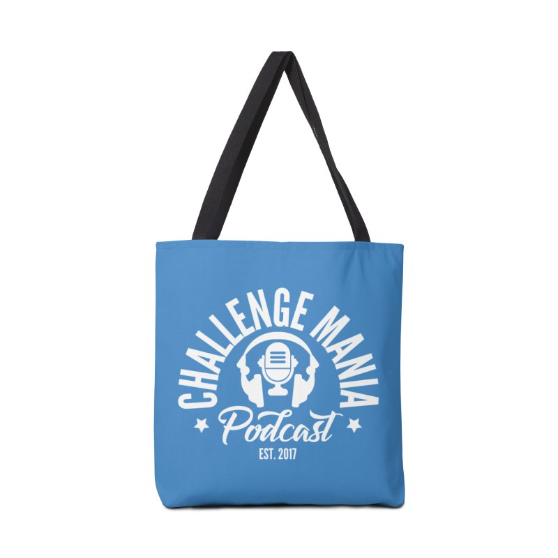 Classic Podcast Logo (White) Accessories Tote Bag Bag by Challenge Mania Shop
