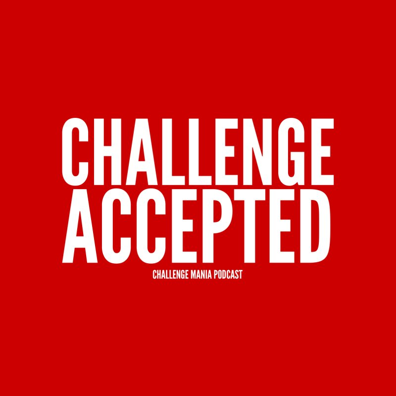 Challenge Accepted (White) Accessories Sticker by Challenge Mania Shop
