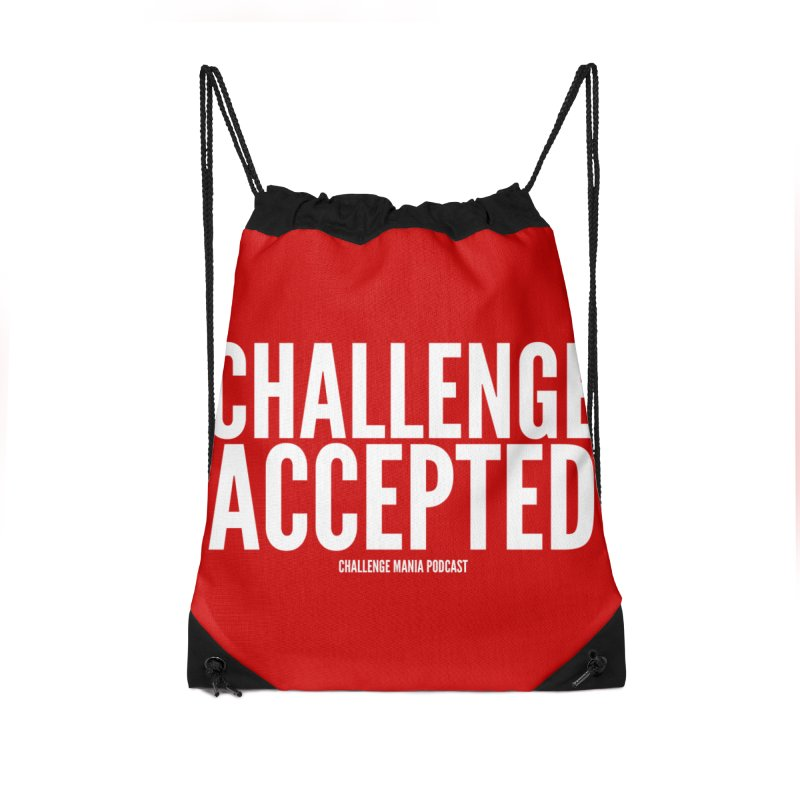 Challenge Accepted (White) Accessories Bag by Challenge Mania Shop
