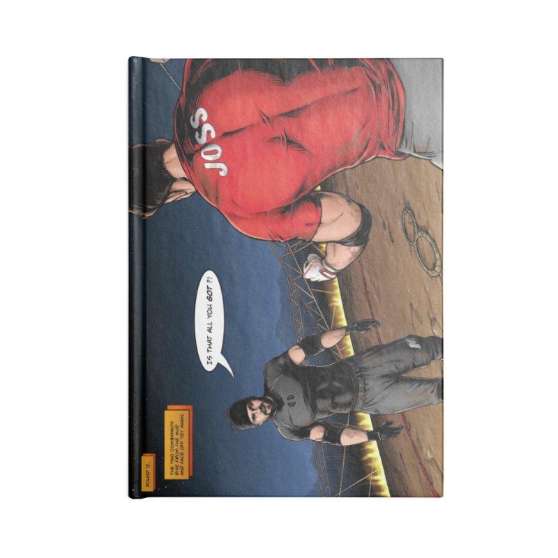Derrick Vs Joss Comic Book Accessories Notebook by Challenge Mania Shop