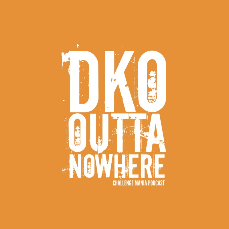 DKO Outta Nowhere (White) Men's T-Shirt by Challenge Mania Shop