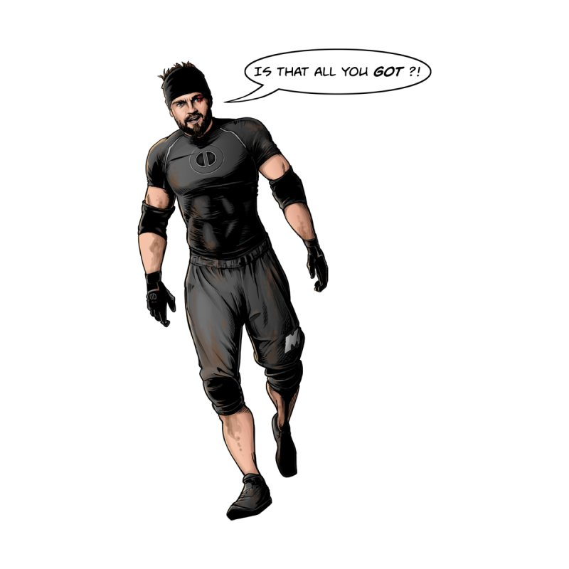 Comic Book Derrick Men's T-Shirt by Challenge Mania Shop