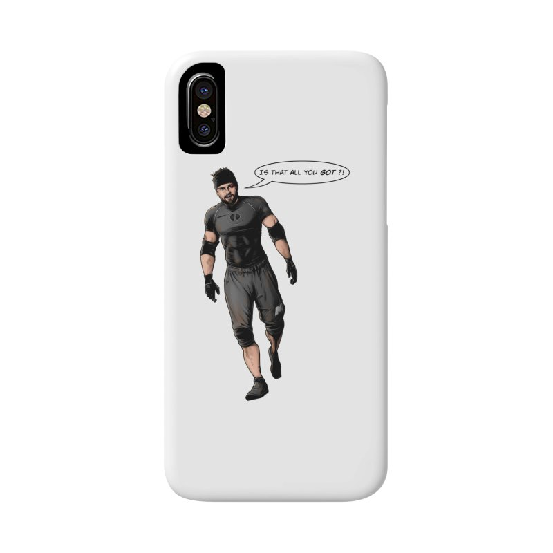 Comic Book Derrick Accessories Phone Case by Challenge Mania Shop