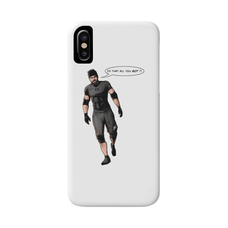 Comic Book Derrick Accessories Phone Case by Challenge Mania Shop