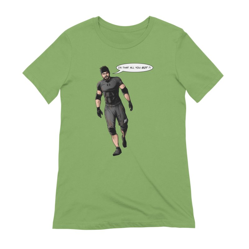Comic Book Derrick Women's Extra Soft T-Shirt by Challenge Mania Shop