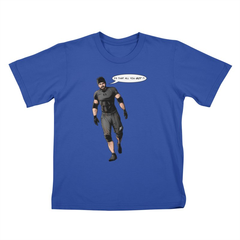 Comic Book Derrick Kids T-Shirt by Challenge Mania Shop