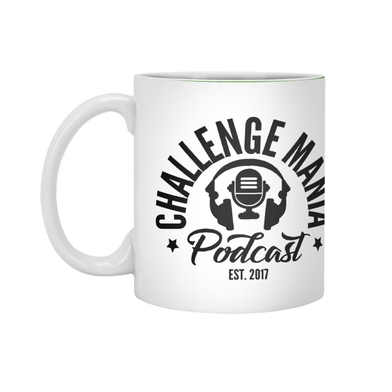 Classic Podcast Logo (Black) Accessories Mug by Challenge Mania Shop