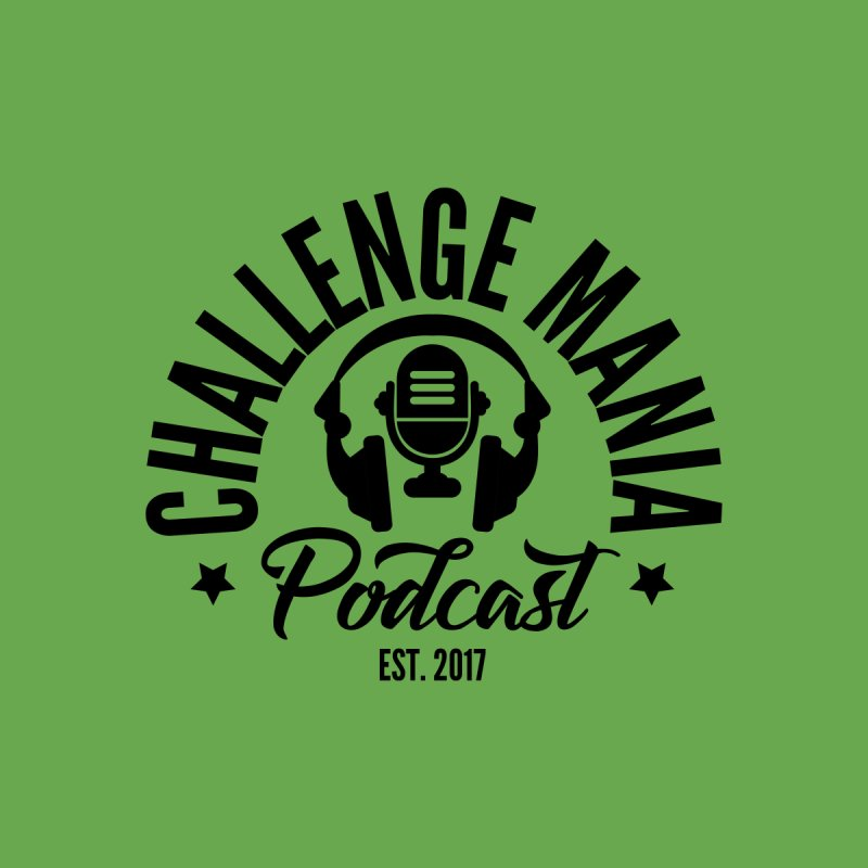 Classic Podcast Logo (Black) by Challenge Mania Shop