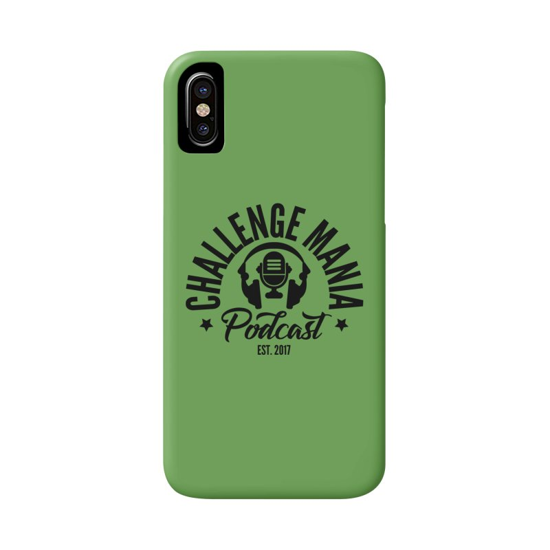 Classic Podcast Logo (Black) Accessories Phone Case by Challenge Mania Shop