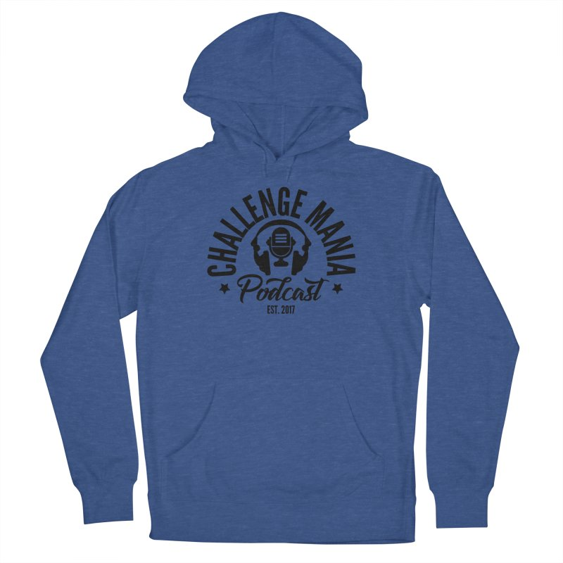 Classic Podcast Logo (Black) Men's Pullover Hoody by Challenge Mania Shop
