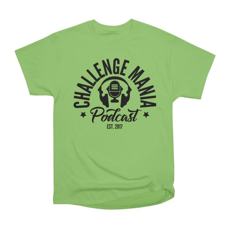 Classic Podcast Logo (Black) Men's T-Shirt by Challenge Mania Shop