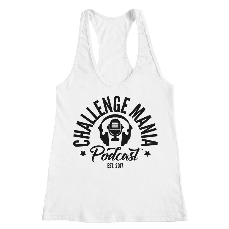 Classic Podcast Logo (Black) Women's Tank by Challenge Mania Shop