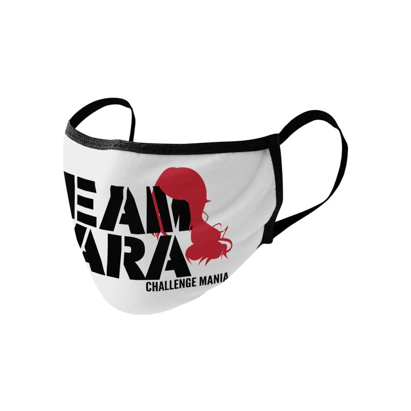 Team Cara Accessories Face Mask by Challenge Mania Shop