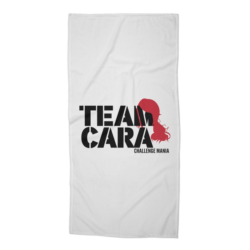 Team Cara Accessories Beach Towel by Challenge Mania Shop