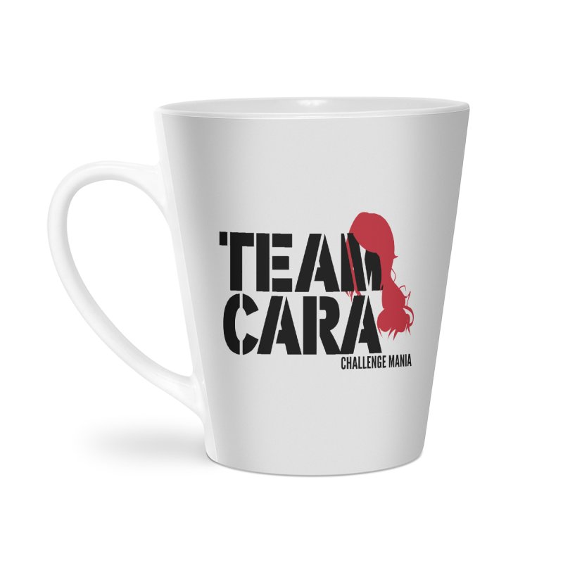 Team Cara Accessories Latte Mug by Challenge Mania Shop