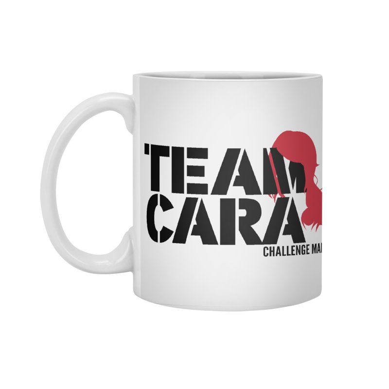 Team Cara Accessories Standard Mug by Challenge Mania Shop