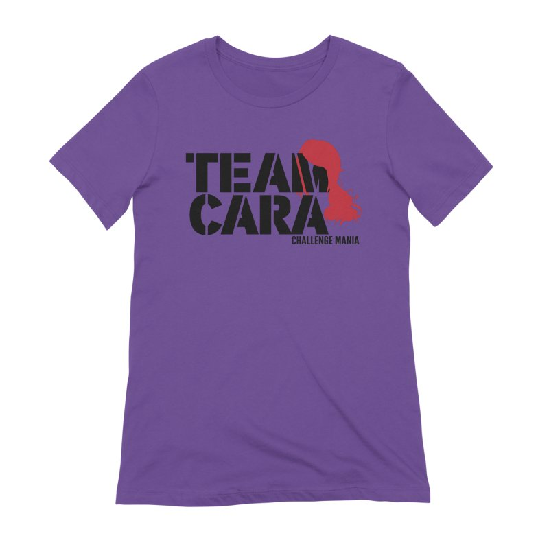 Team Cara Women's Extra Soft T-Shirt by Challenge Mania Shop