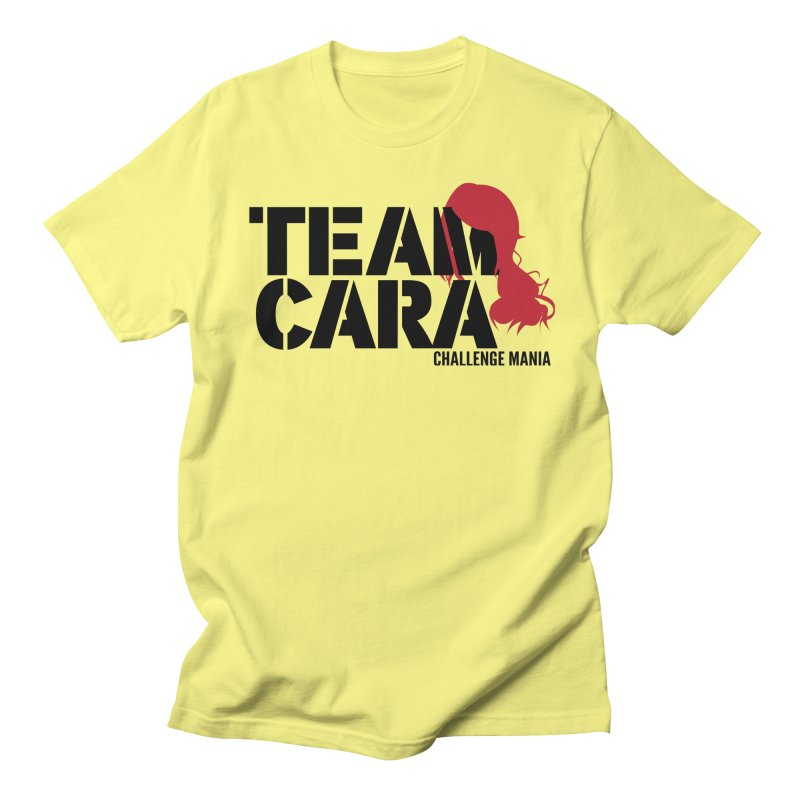 Team Cara Men's T-Shirt by Challenge Mania Shop