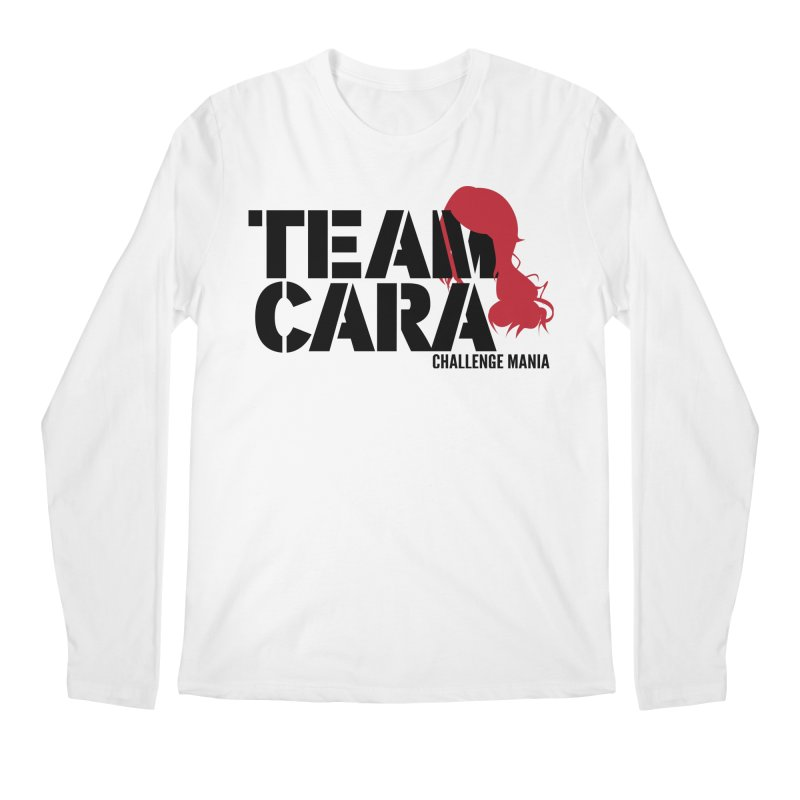 Team Cara Men's Longsleeve T-Shirt by Challenge Mania Shop