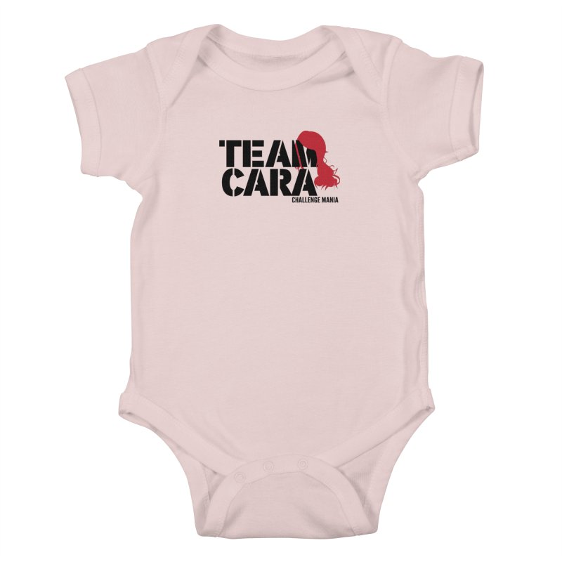 Team Cara Kids Baby Bodysuit by Challenge Mania Shop