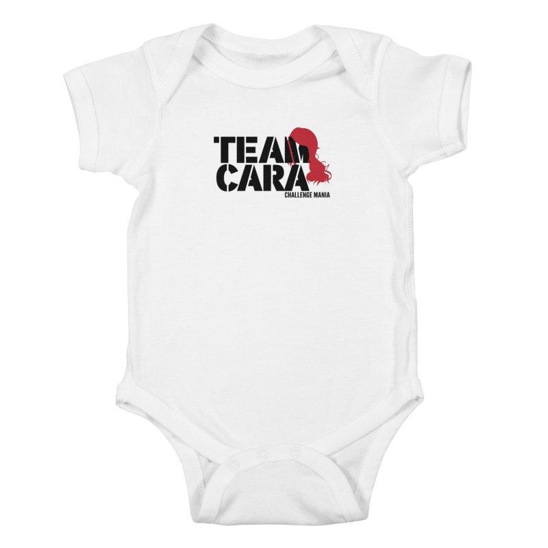 Team Cara Kids Baby Bodysuit by Challenge Mania Shop