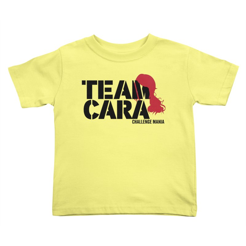 Team Cara Kids Toddler T-Shirt by Challenge Mania Shop