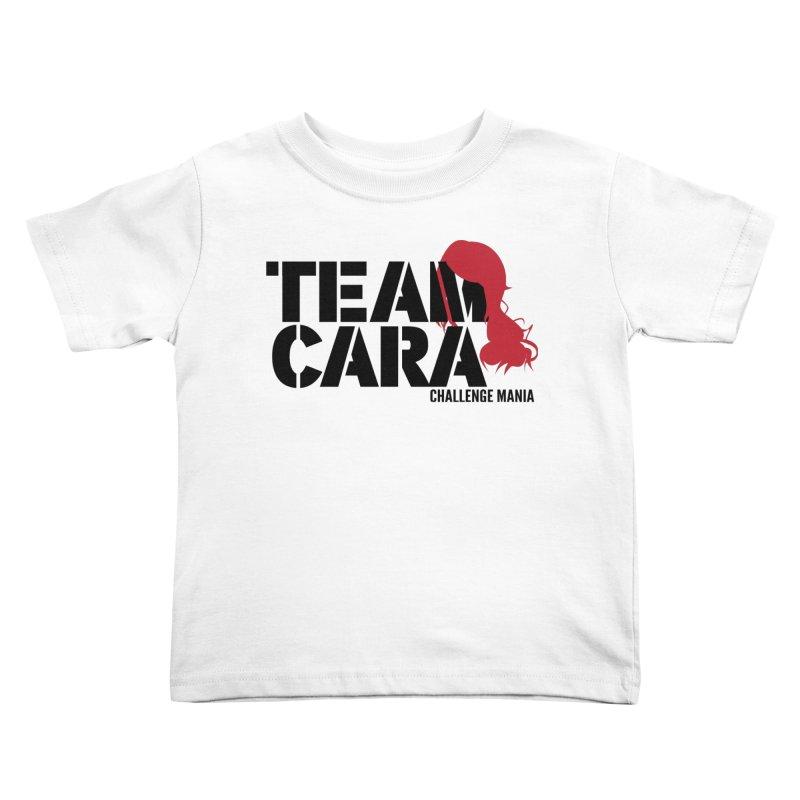 Team Cara Kids Toddler T-Shirt by Challenge Mania Shop