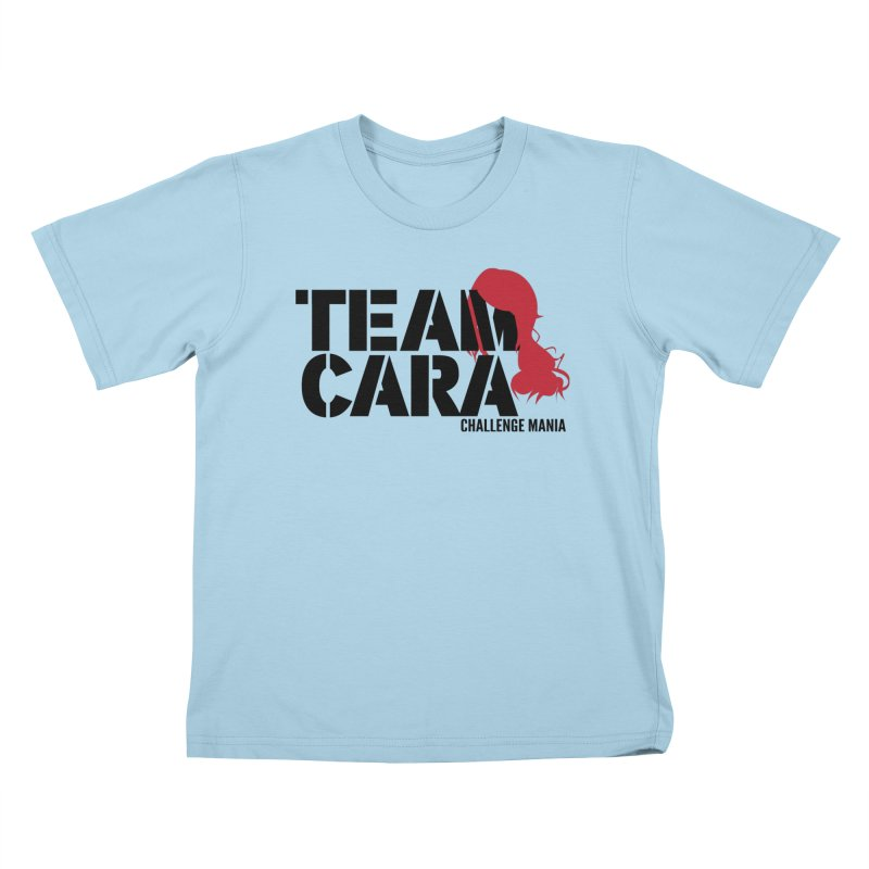 Team Cara Kids T-Shirt by Challenge Mania Shop