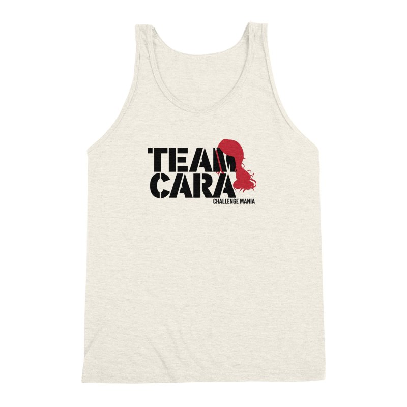 Team Cara Men's Triblend Tank by Challenge Mania Shop