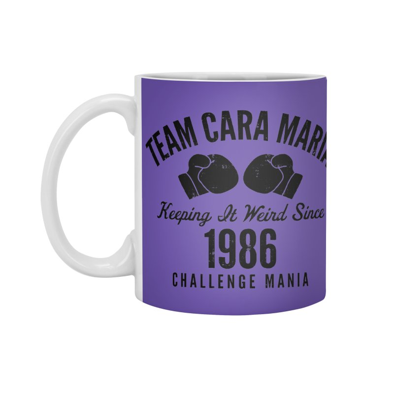 Cara 1986 (Black) Accessories Standard Mug by Challenge Mania Shop