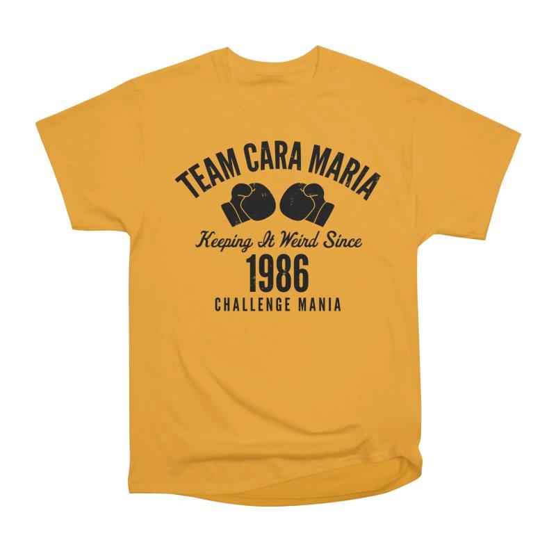 Cara 1986 (Black) Men's Heavyweight T-Shirt by Challenge Mania Shop