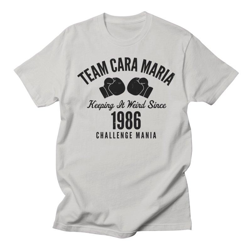 Cara 1986 (Black) Men's T-Shirt by Challenge Mania Shop