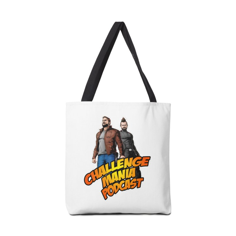 Super Hero Derrick & Scott Accessories Tote Bag Bag by Challenge Mania Shop