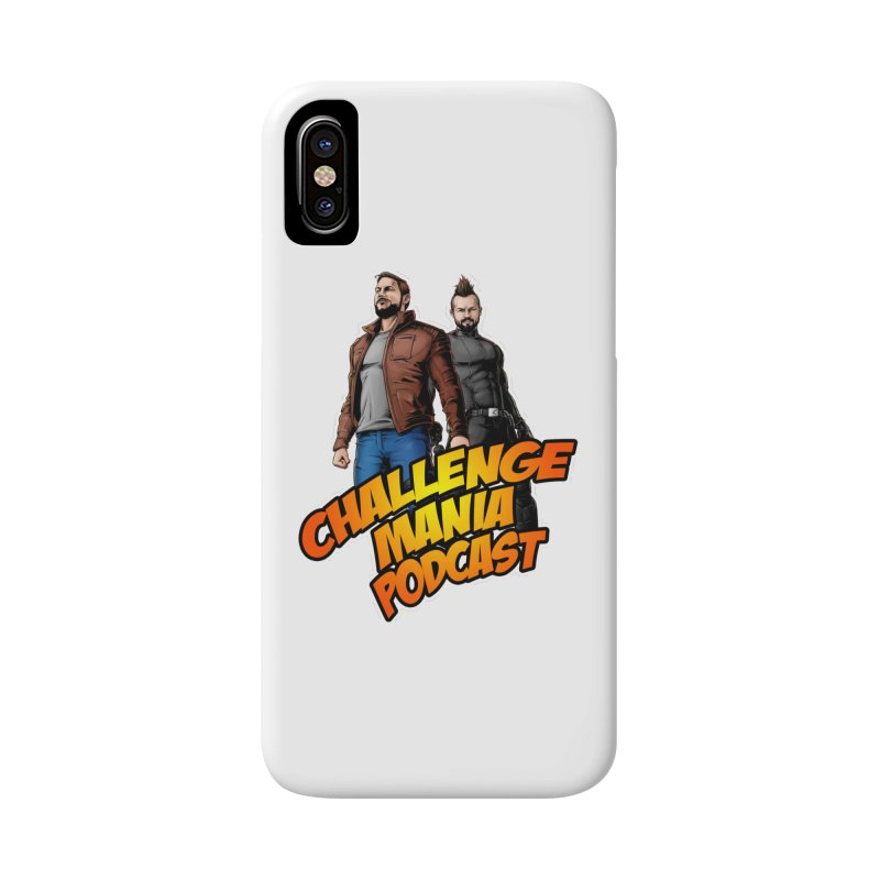 Super Hero Derrick & Scott Accessories Phone Case by Challenge Mania Shop
