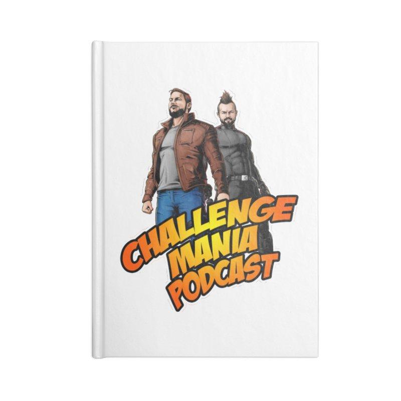 Super Hero Derrick & Scott Accessories Notebook by Challenge Mania Shop