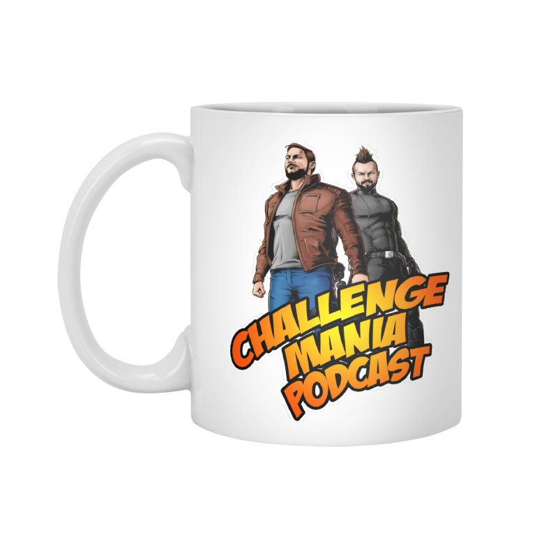 Super Hero Derrick & Scott Accessories Mug by Challenge Mania Shop