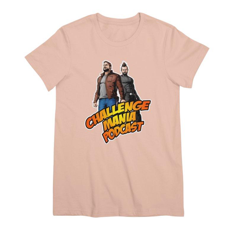 Super Hero Derrick & Scott Women's Premium T-Shirt by Challenge Mania Shop