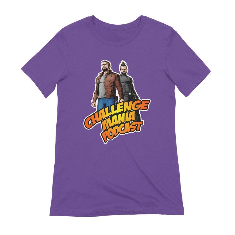 Super Hero Derrick & Scott Women's Extra Soft T-Shirt by Challenge Mania Shop